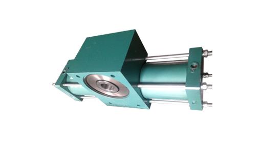 QGK 孔式单齿条摆动气缸